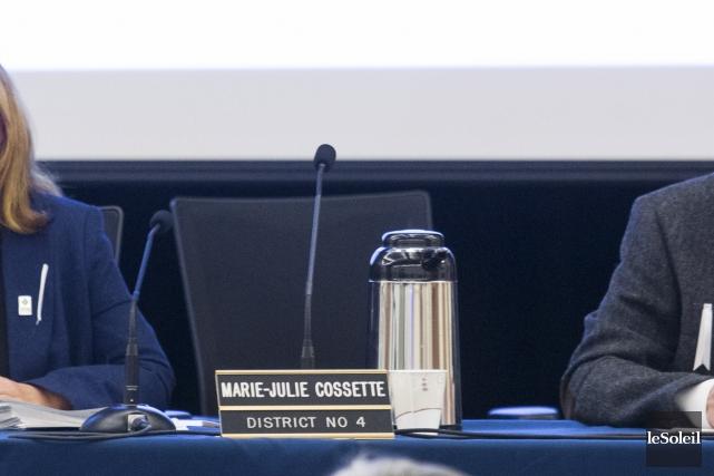 La conseillère Marie-Julie Cossette a raté 19 des... (Le Soleil, Caroline Grégoire)