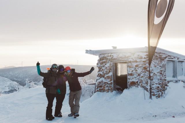Des participantes de l'événement White Lips au sommet... (Photo Frédéric Tougas, fournie par White Lips)