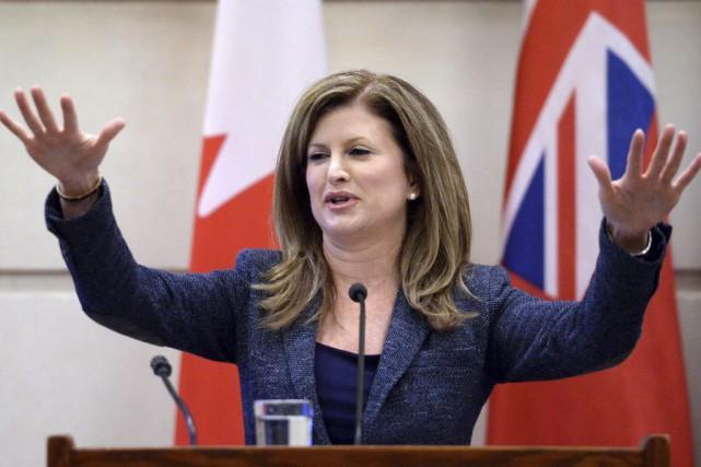 La chef par intérim du Parti conservateur, Rona... (La Presse Canadienne, Sean Kilpatrick)