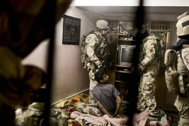 Le nouveau déploiement de soldats des forces spéciales... (PHOTO ARCHIVES AP)