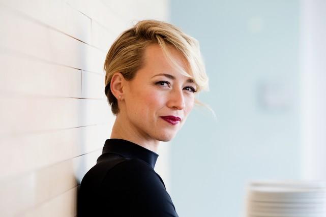 Karine Vanasse incarnerala détective Lisa Delorme dans la... (PHOTO ALAIN ROBERGE, ARCHIVES LA PRESSE)