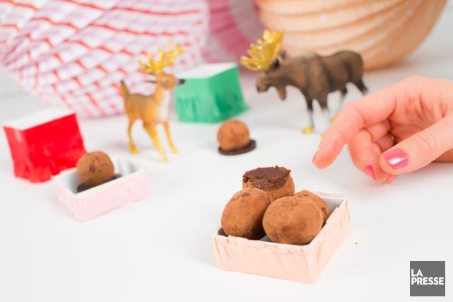La chocolatière Claudine Desnoyersa longtemps eu une boutique àSaint-Lambert,... (PHOTO EDOUARD PLANTE-FRECHETTE, LA PRESSE)