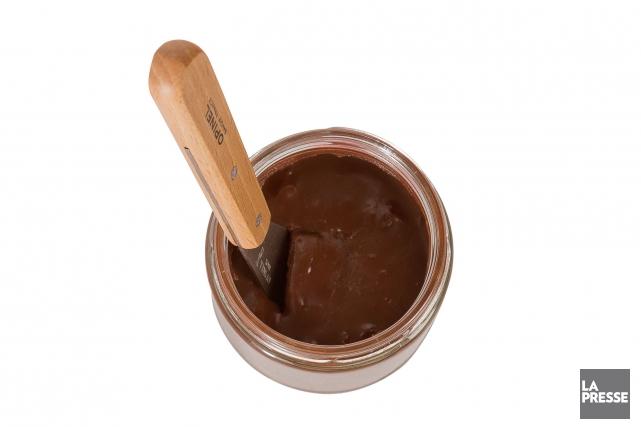La tartinade au chocolat du restaurant H4C obtient un succès fou au brunch. (PHOTO MARCO CAMPANOZZI, LA PRESSE)