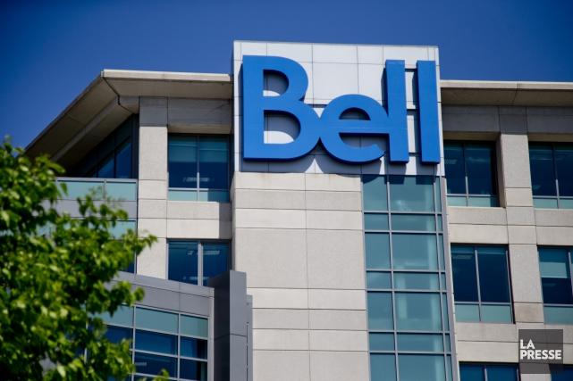 Bell tient ce matin, à Montréal, son assemblée... (PHOTO DAVID BOILY, ARCHIVES LA PRESSE)