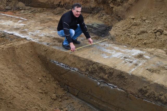 Le 6 novembre, le président d'Excavation Ovila Despins... (François Gervais)