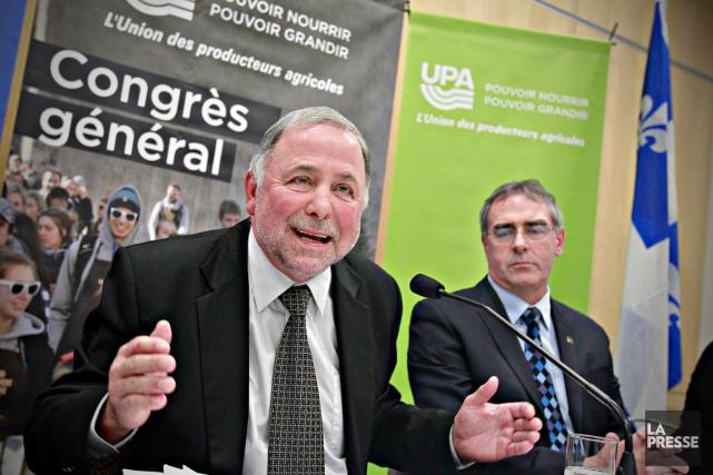 Le ministre de l'Agriculture, Pierre Paradis, a mis... (La Presse, Pascal Ratthé)