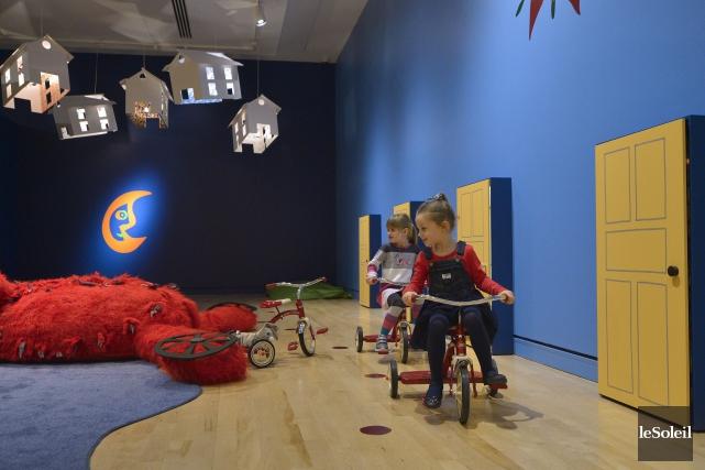 L'exposition Derrière la porte du MNBAQ est conçue... (Le Soleil, Yan Doublet)