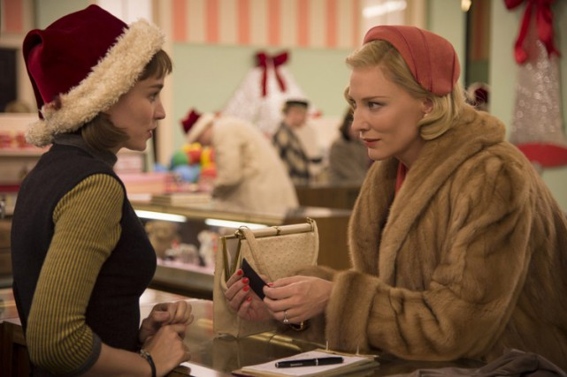 Rooney Mara et Cate Blanchett dans une scène... (Associated Press)