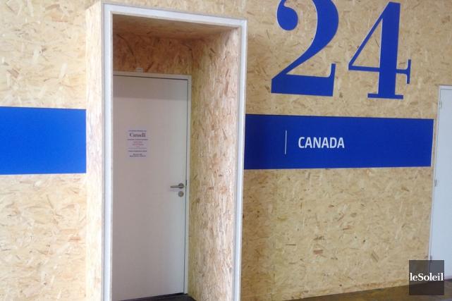 À la conférence de Paris, les visiteurs se... (Le Soleil, Gilbert Lavoie)