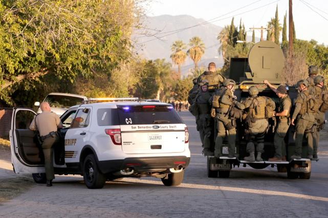 La ville de San Bernardino a été transformée... (AP, Chris Carlson)
