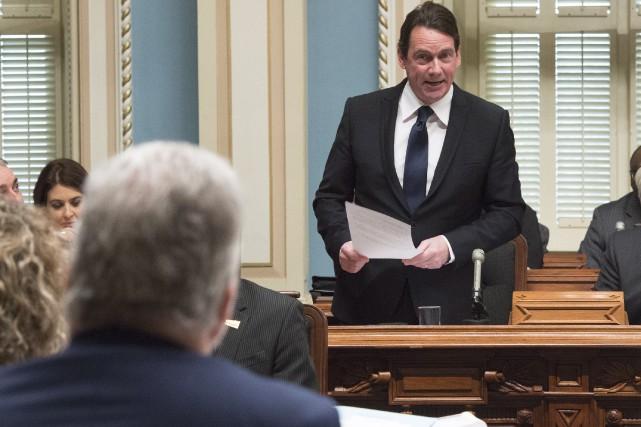 Le chef du Parti québécois, Pierre Karl Péladeau,... (La Presse Canadienne, Jacques Boissinot)