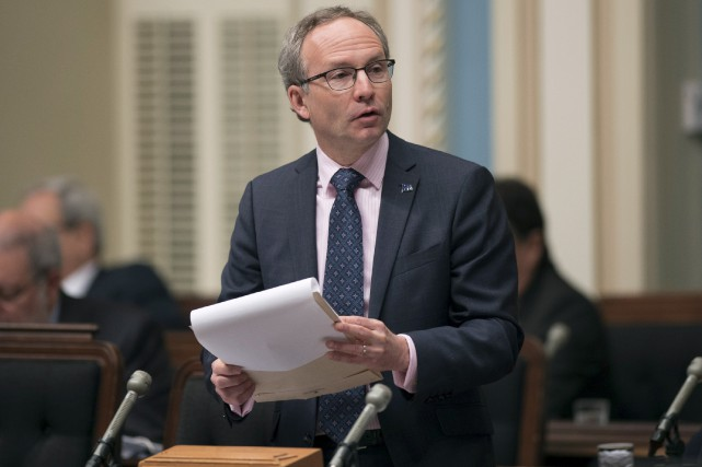 Le président du Conseil du trésor, Martin Coiteux.... (La Presse Canadienne)