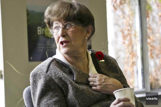 Pauline Quinlan: «On aurait apprécié un appel de... (photo archives La Voix de l'Est)