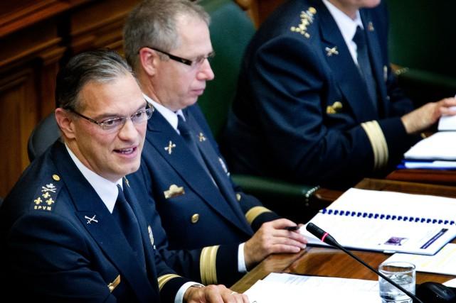 Philippe Pichet,nouveau chef de la police de Montréal,est... (PHOTO MARCO CAMPANOZZI, LA PRESSE)