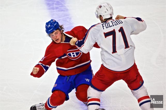 Le Canadien a laissé Nathan Beaulieu au banc... (Photo André Pichette, La Presse)