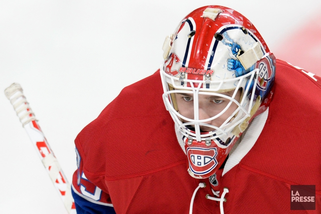 Dustin Tokarski... (Photo Bernard Brault, archives La Presse)