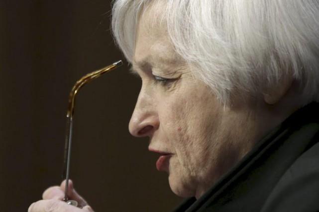 Janet Yellen... (PHOTO GARY CAMERON, REUTERS)