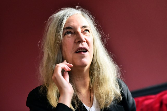 Patti Smith était à Paris à l'occasion de... (PHOTO AFP)