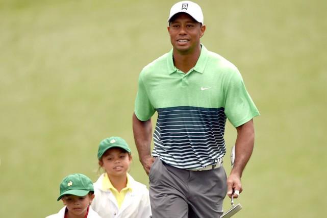Tiger Woods dit avoir expliqué à ses enfants,...