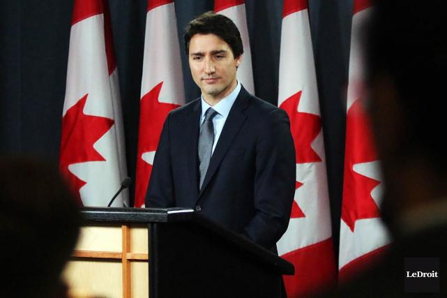 Le premier ministre Justin Trudeau... (Etienne Ranger, Archives LeDroit)