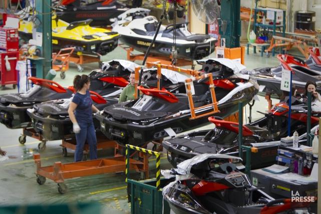 L'investissement de 118 millions $ de Bombardier produits récréatifs (BRP)... (Archives, La Presse)