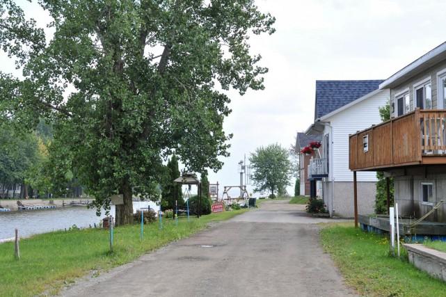 La saga du chemin du Lac St-Pierre ne... (Émilie O'Connor)