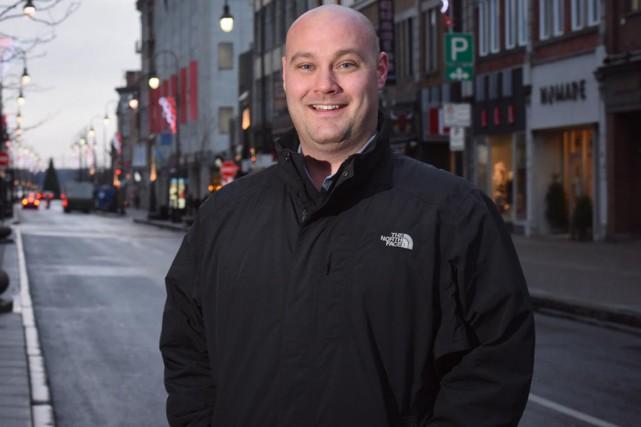 Le directeur général de la SDC du centre-ville... (François Gervais)