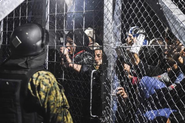 DÉBAT / Le dossier des réfugiés syriens continue de retenir l'attention... (Photo Agence France-Presse)