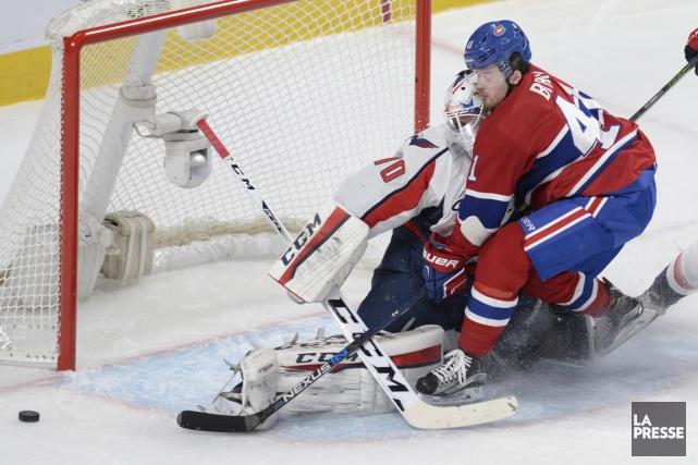 Relisz notre couverture de l'affrontement entre le Canadien et les Capitals de... (Photo Bernard Brault, La Presse)