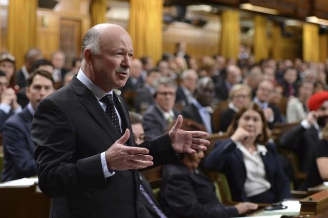 Le député de Brome-Missisquoi, Denis Paradis, a été... (Photo La Presse Canadienne)