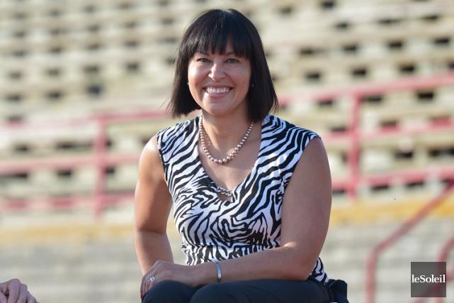 Chantal Petitclercagira comme chef de mission auxprochains Jeux... (Yan Doublet, Archives Le Soleil)