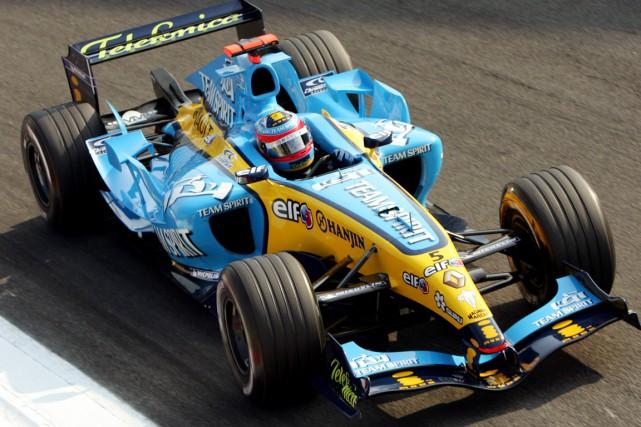 Fernando Alonso avait été couronné champion en 2005... (AP, Luca Bruno)