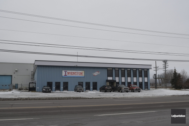 Le bâtiment des industries Tanguay de Saint-Prime a... (Photo Le Quotidien, Louis Potvin)