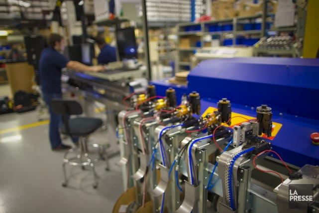 L'industrie manufacturière constitue toujours la colonne vertébrale de... (Archives La Presse)