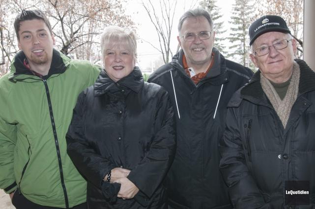 Deux concerts de Noël seront présentés par l'Harmonie Saguenay, les samedis 5... (Photo Le Quotidien, Michel Tremblay)