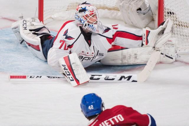 Les Capitals ont battu le Canadien 3-2 jeudi... (La Presse Canadienne, Graham Hughes)