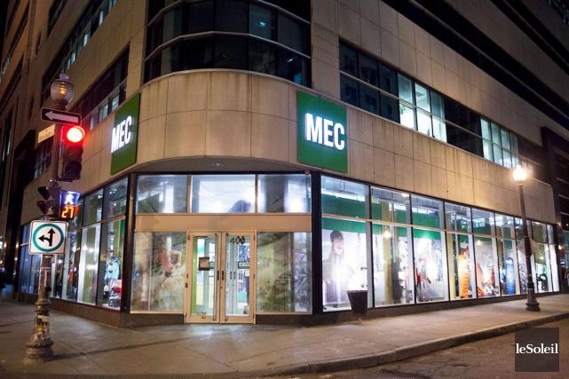 Le magasin MEC, dans le quartier Saint-Roch... (Le Soleil, Caroline Grégoire)