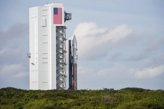 La version améliorée de Cygnus avec une capacité... (PHOTO AUBREY GEMIGNANI, AFP/NASA)