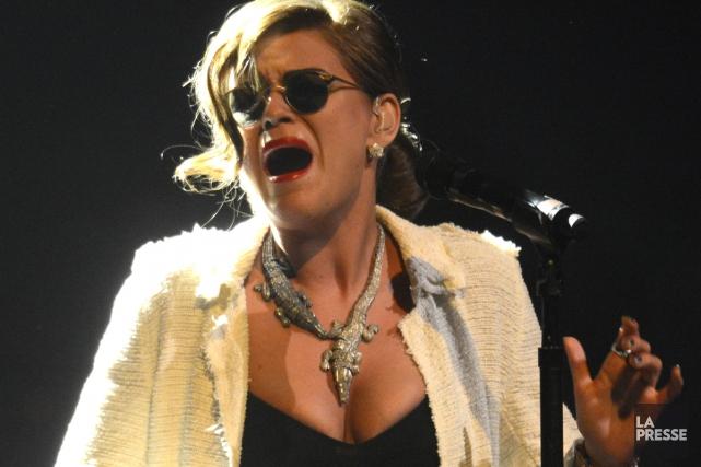 Chez les chanteuses, l'Américaine Melody Gardot domine la... (PHOTO BERNARD BRAULT, ARCHIVES LA PRESSE)