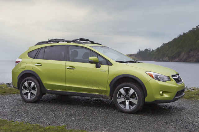 Le Subaru XV Crosstrek... (Photo fournie par Subaru)