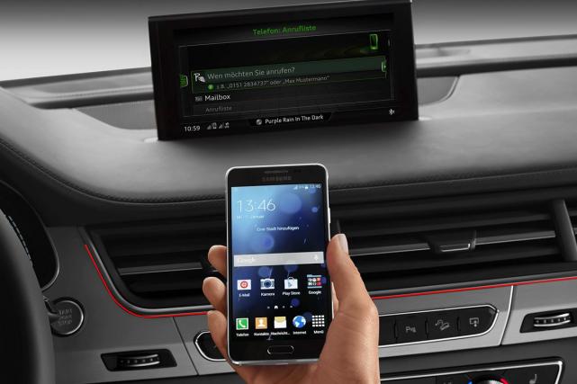 Audi offrira le service d'urgence et de sécurité Véhicule Connecté Sirius XM... (Photo fournie par Audi)
