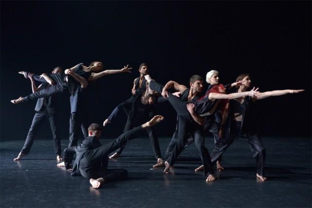 Les Ballets Jazz de Montréal présentent ce soir... (PHOTO RAPHAELLE BOB GARCIA, FOURNIE PAR DANSE DANSE)