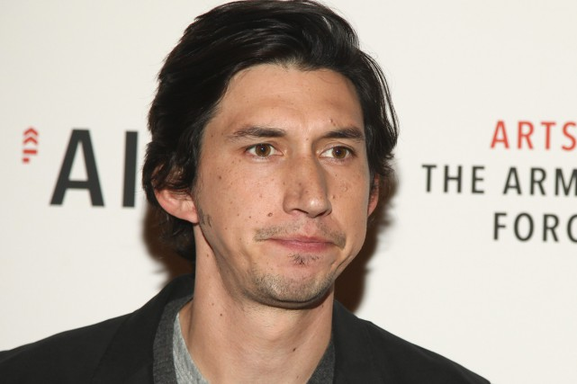 Adam Driver... (PHOTO ARCHIVES AP)