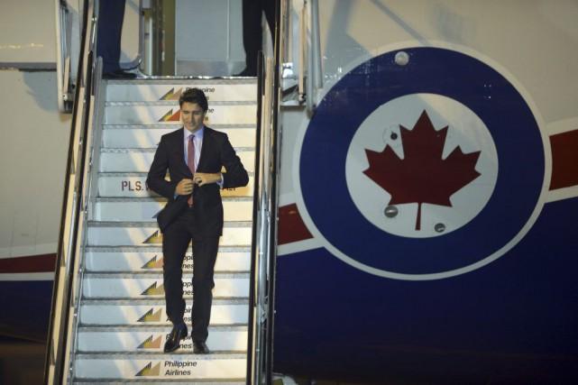 Justin Trudeau a promis «un débat public approfondi... (PHOTO NOEL CELIS, AFP)