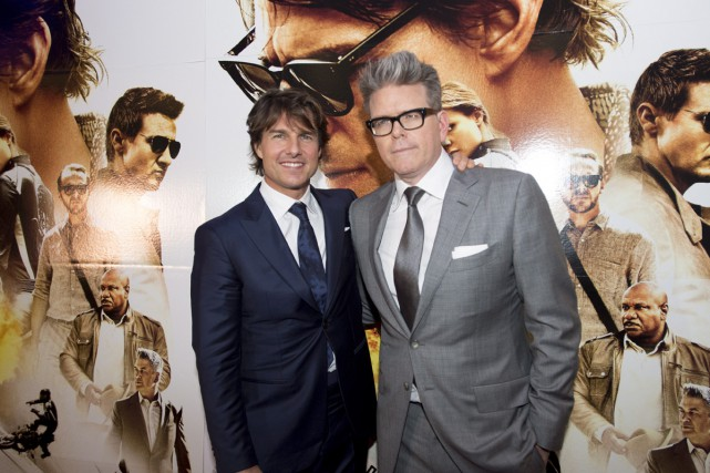 Tom Cruise et Christopher McQuarrie... (PHOTO ARCHIVES LA PRESSE CANADIENNE)