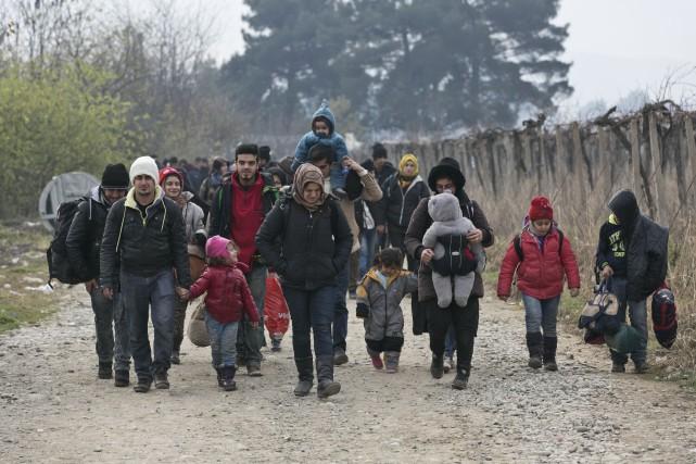 CHRONIQUE / Le Service d'aide aux Néo-Canadiens de Sherbrooke (SANC) attend... (Associated Press)