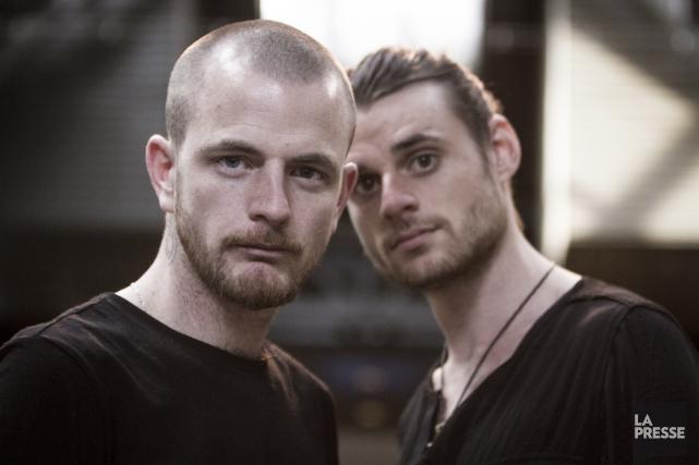 Dave Crowe et Andrew Balcon du duo britannique... (Archives, La Presse)