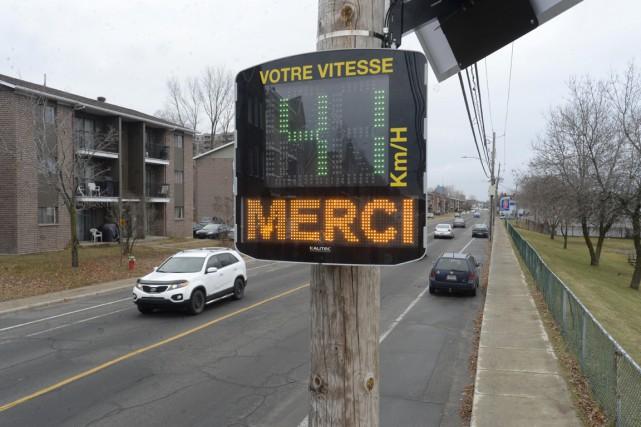 L'appareil est en fonction depuis vendredi matin, rue... (Sylvain Mayer)