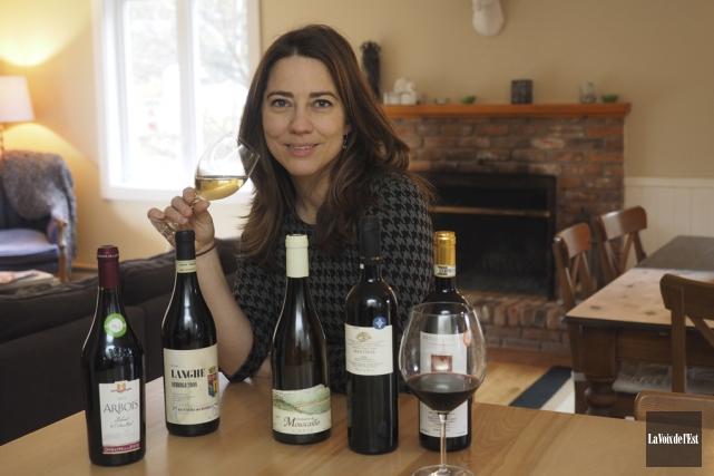 Pour la réalisation de chaque Guide du vin... (Alain Dion, La Voix de l'Est)