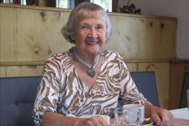 Theresia Speier-Galbas, 83 ans, est portée disparue dans...